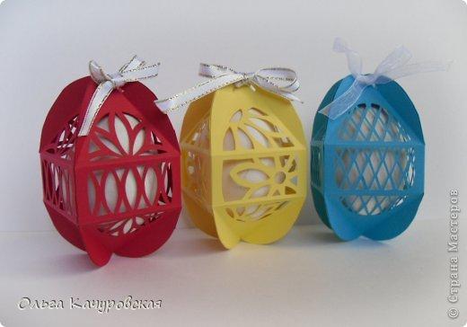 Изготовление коробочки для пасхальных яиц