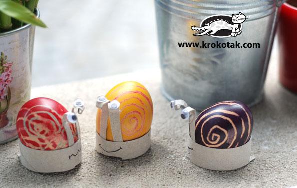 Подставки под пасхальные яйца для детей