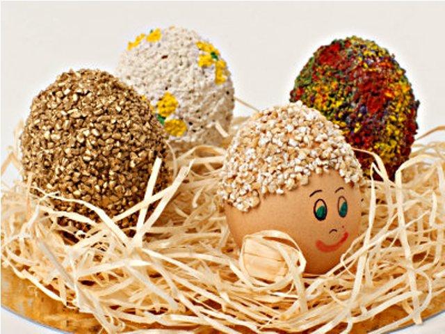 Как сделать пасхальные яйца