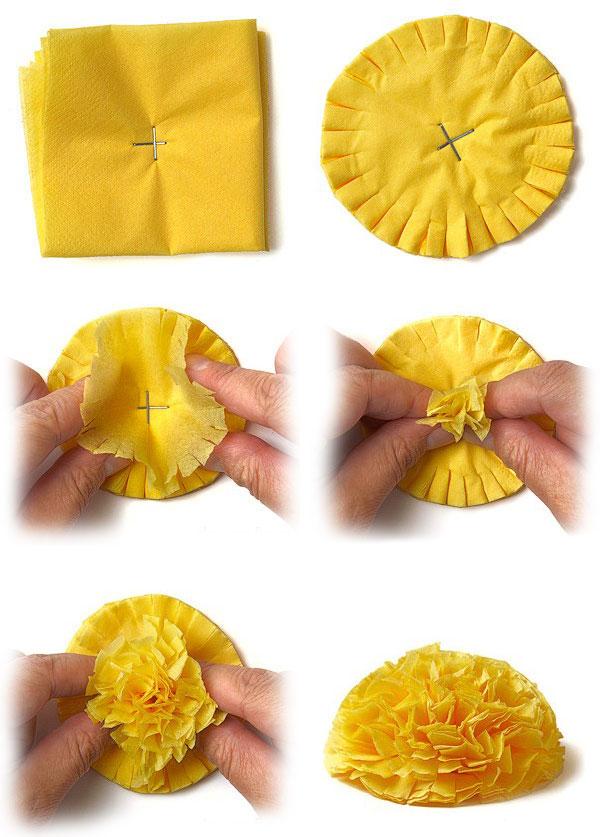 Что можно сделать из салфеток своими руками