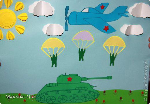 Поделка для детей ко Дню Победы