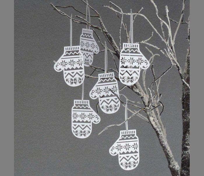 Новогодние украшения из бумаги своими руками для дома