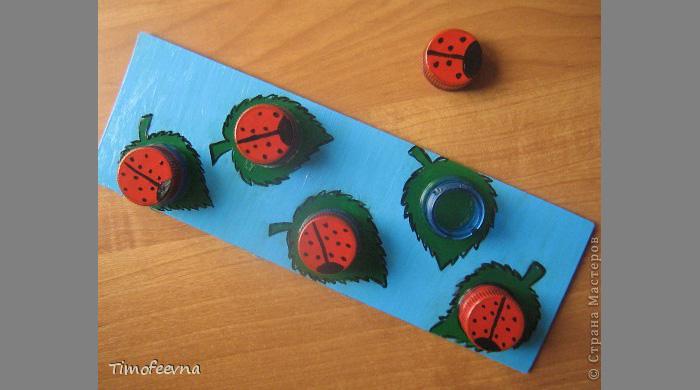 Как сделать игрушки из крышек