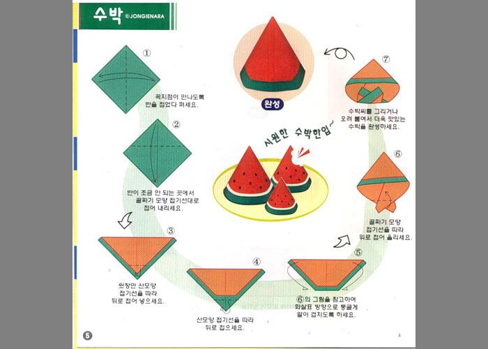 Оригами еда для детей