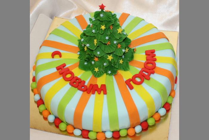 Торт елочка фото