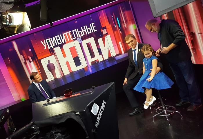 Белла Девяткина на телевидении