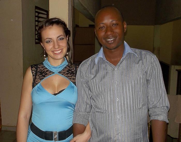 Катя с мужем - Кали