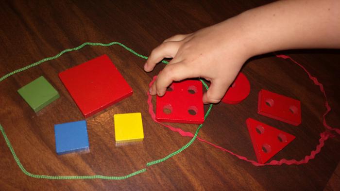Развитие математических представлений у малыша. Множества
