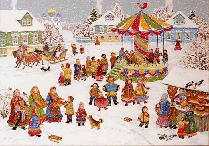 Масленица в детском саду - как празднуют
