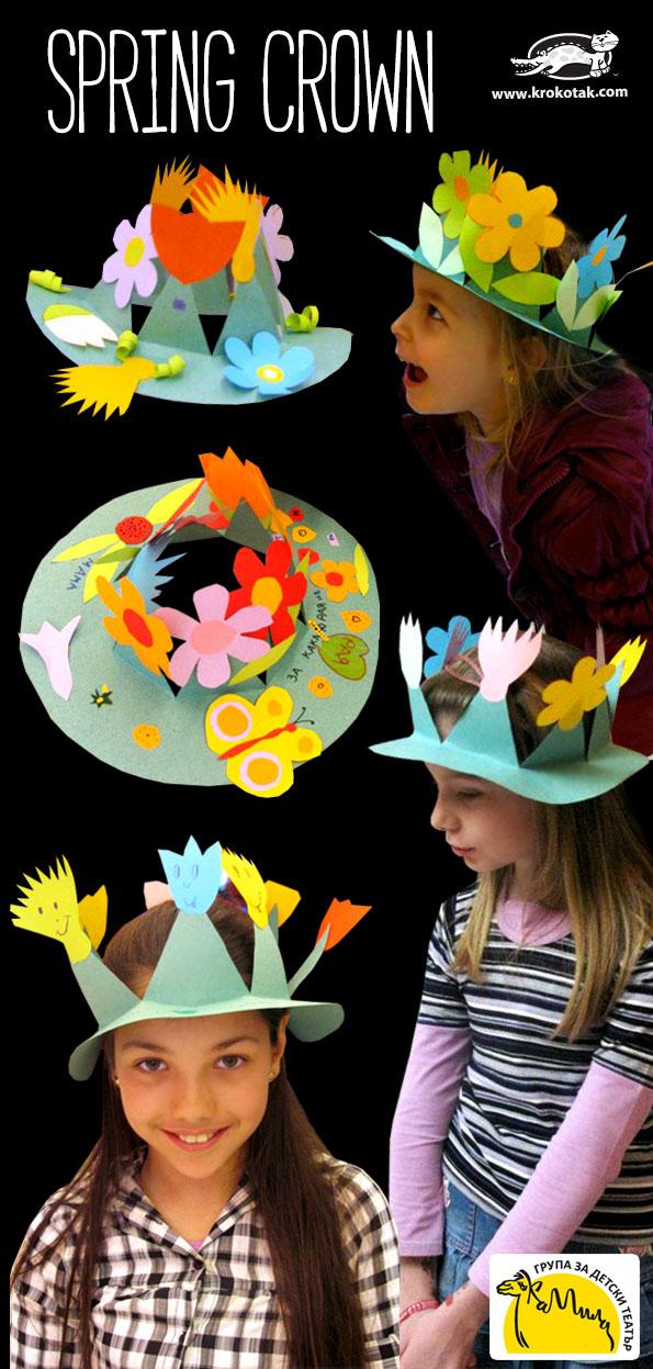 Шляпа с цветами своими руками мальчику фото 743