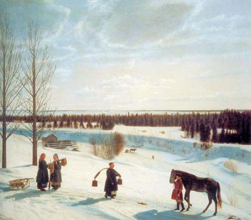 Картинки красоты зимы с описанием