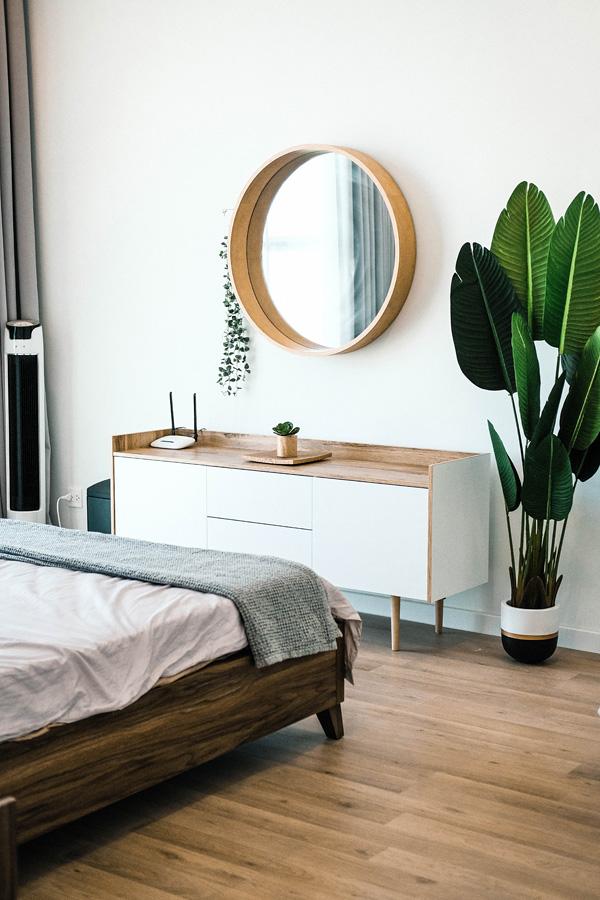 Скандинавский интерьер комнаты