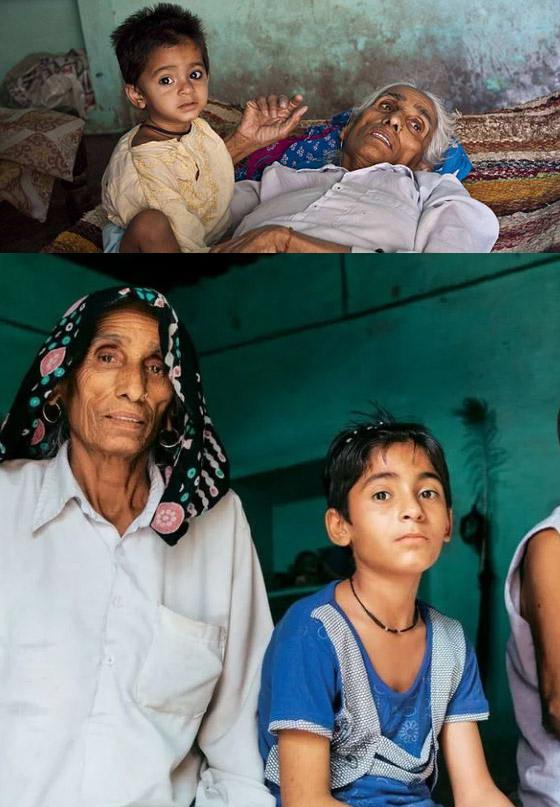 Самые старые матери: Раджо Деви Лохан с дочерью Навин