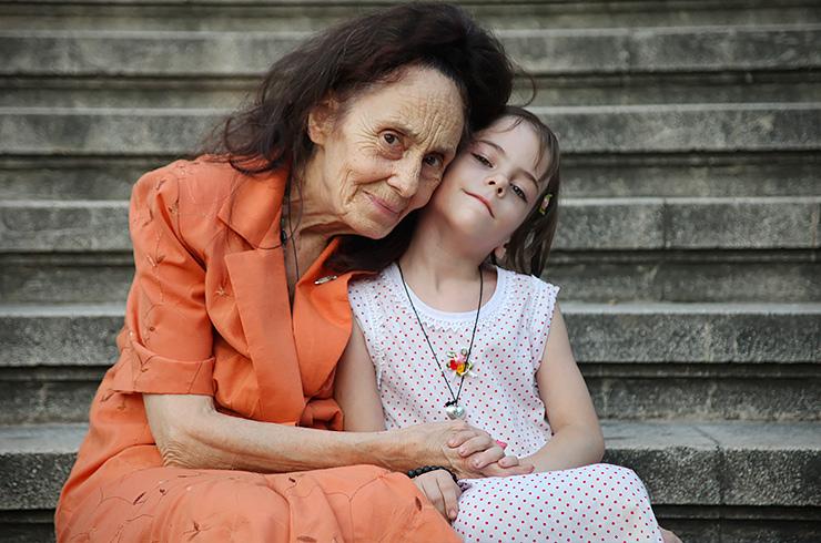 Самые старые матери: Адриана Илиеску с дочерью
