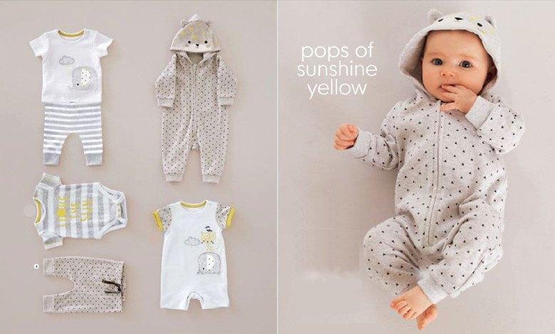 Одежда для новорожденных. Список вещей для младенца