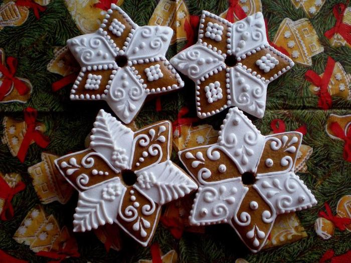 рецепт рождественского пряников