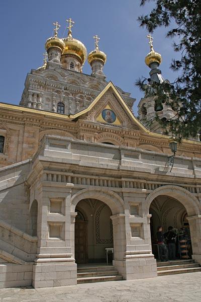 Храм святой Марии Магдалины в Гефсимании